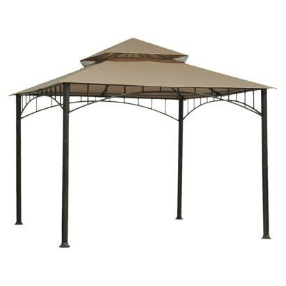 Madaga Collection Replacement Gazebo Canopy 10 X 10 Square By Threshold Threshold Http Www Amazon Com Dp B00cf61e52 Ref Cm Patio Canopy Gazebo Canopy Gazebo