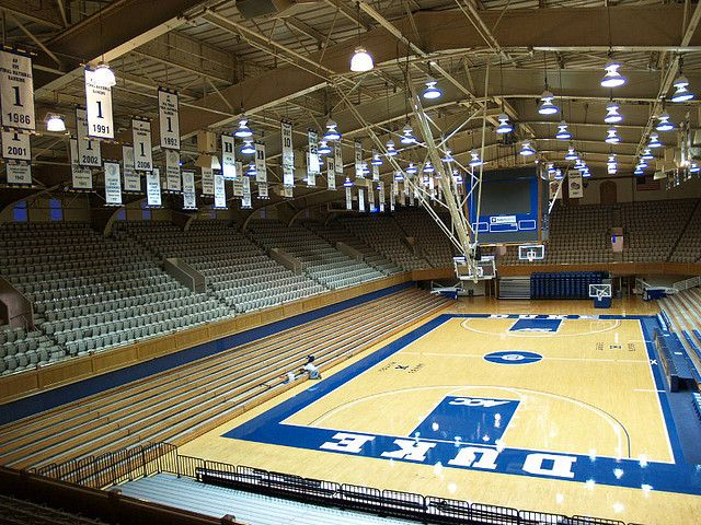 Cameron Indoor Stadium Sports Stadium Indoor Gym