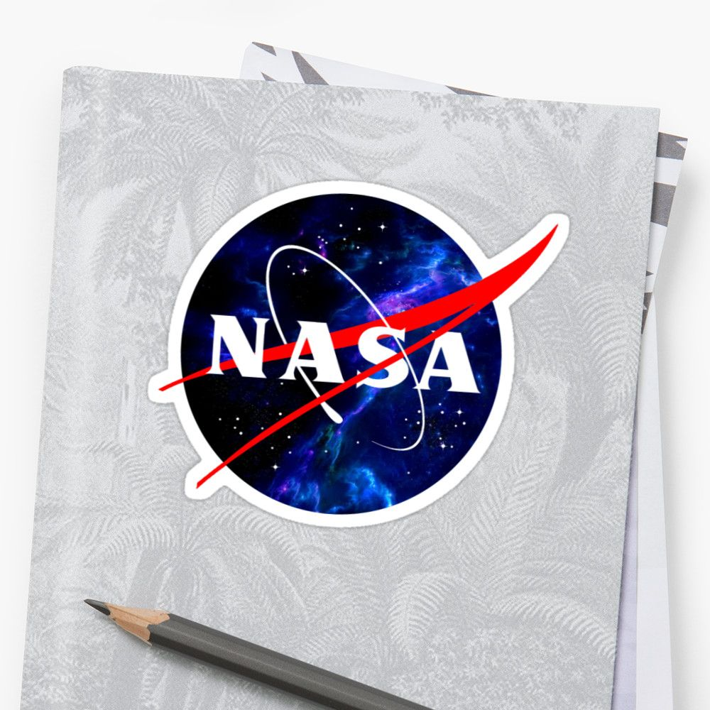 'NASA ' Sticker by MrGamePLAY Nasa, Logo sticker