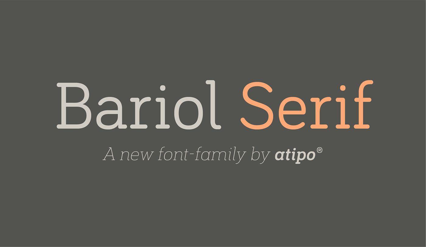 bariol font family