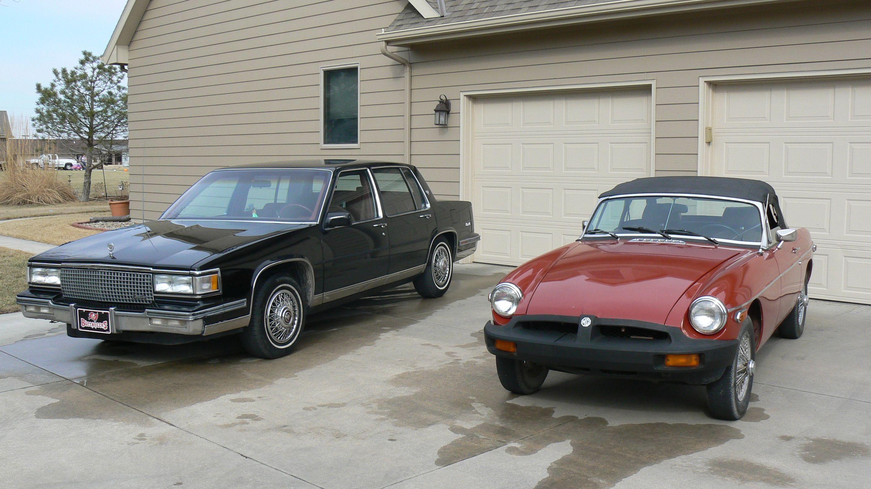 My Cars 1988 Cadillac Sedan Deville And 1978 Mgb Pinterest 4 Door