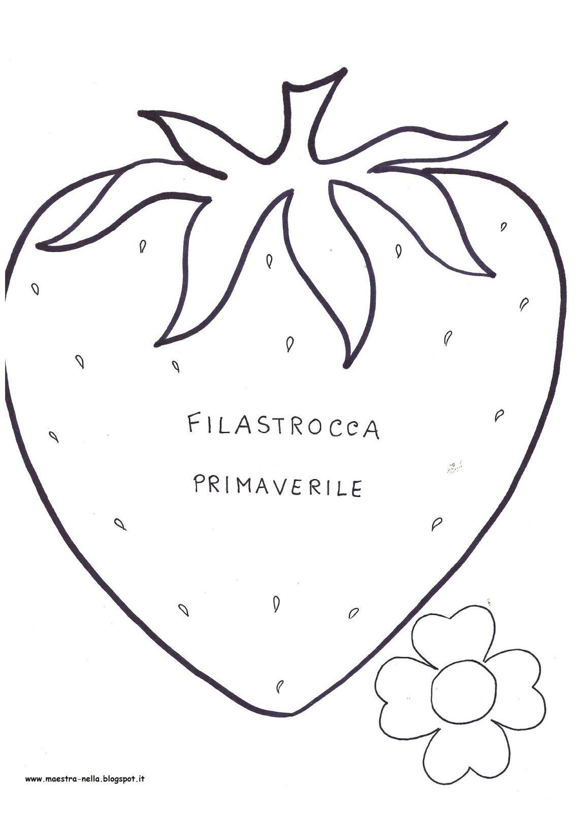 Libretto Filastrocca Primaverile Filastrocche Le Idee Della