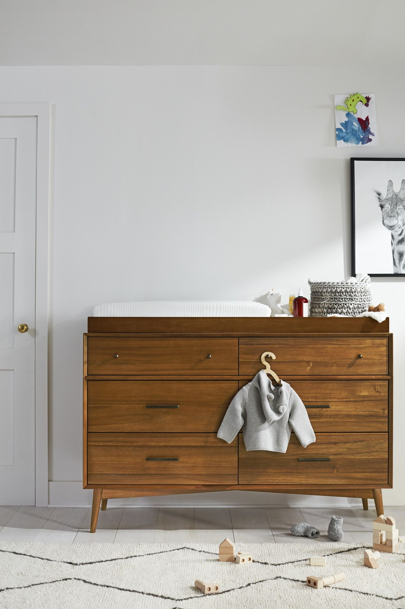 West Elm Modern Baby And Kids Furniture Home Decor Midcentury Wood Changing Table