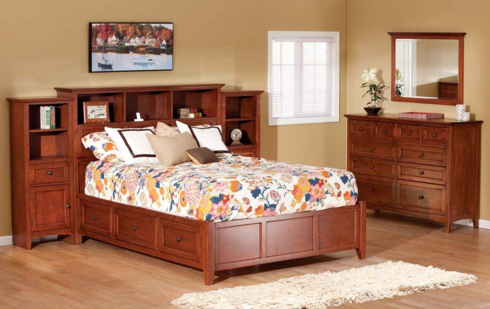 The McKenzie Series Built From Solid Alder Wood Finished Any Way Cool Mckenzie Bedroom Furniture Ideas Design
