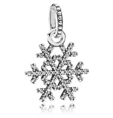 Pandora Charms Weihnachten.Pin Auf Schneeflocken