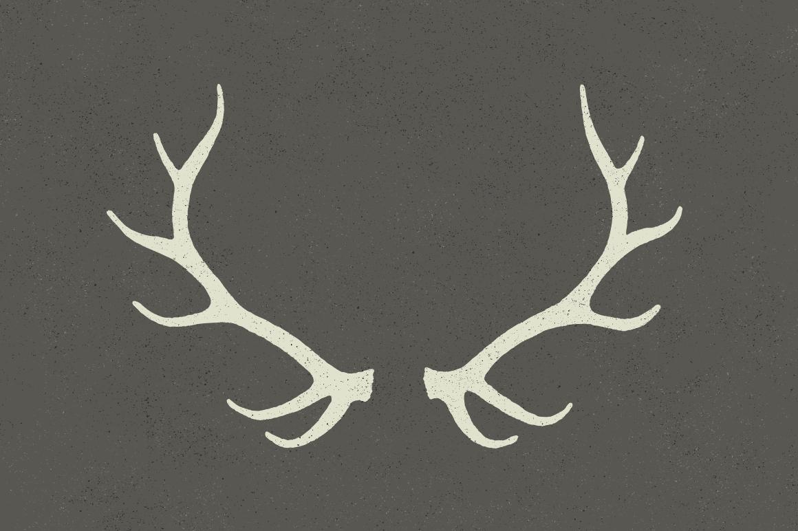 Good Shape For Antler Necklace Antler Tattoos Elk Antlers Antler Drawing