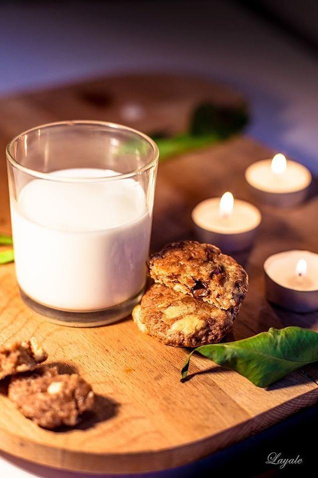layalesweetphotolove | Biscotti al cioccolato e mandorle & pomeriggi che profumano di Natale..