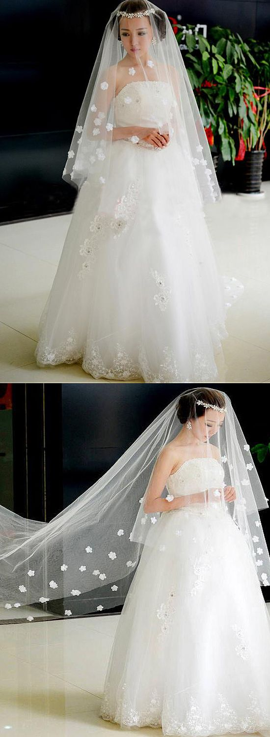 2019 year for women- Vintage Exclusive veil for beautiful bridals