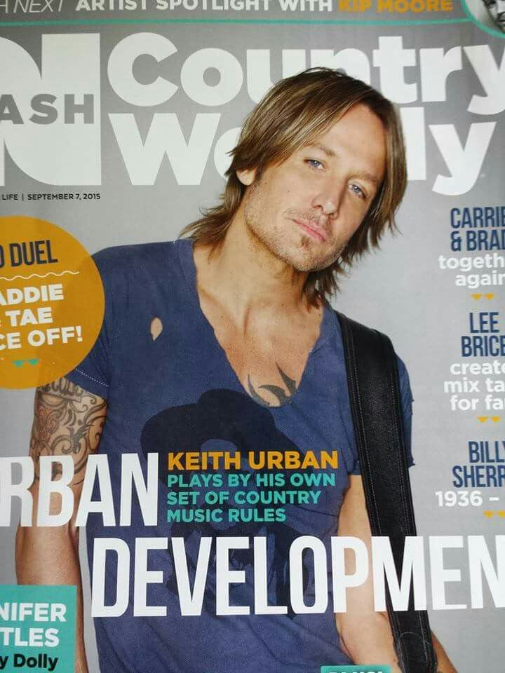 Gorgeous Mr. Urban on Country Weekly..
