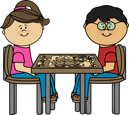 Children Putting Puzzle Together Clip Art Children Putting Puzzle Together Image Clip Art Art Art For Kids