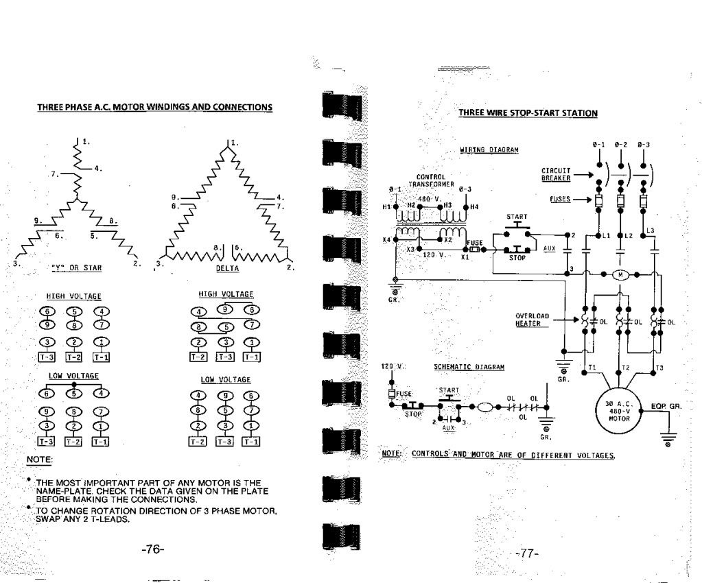 Pretty 480 Delta Wiring Diagram Contemporary Electrical