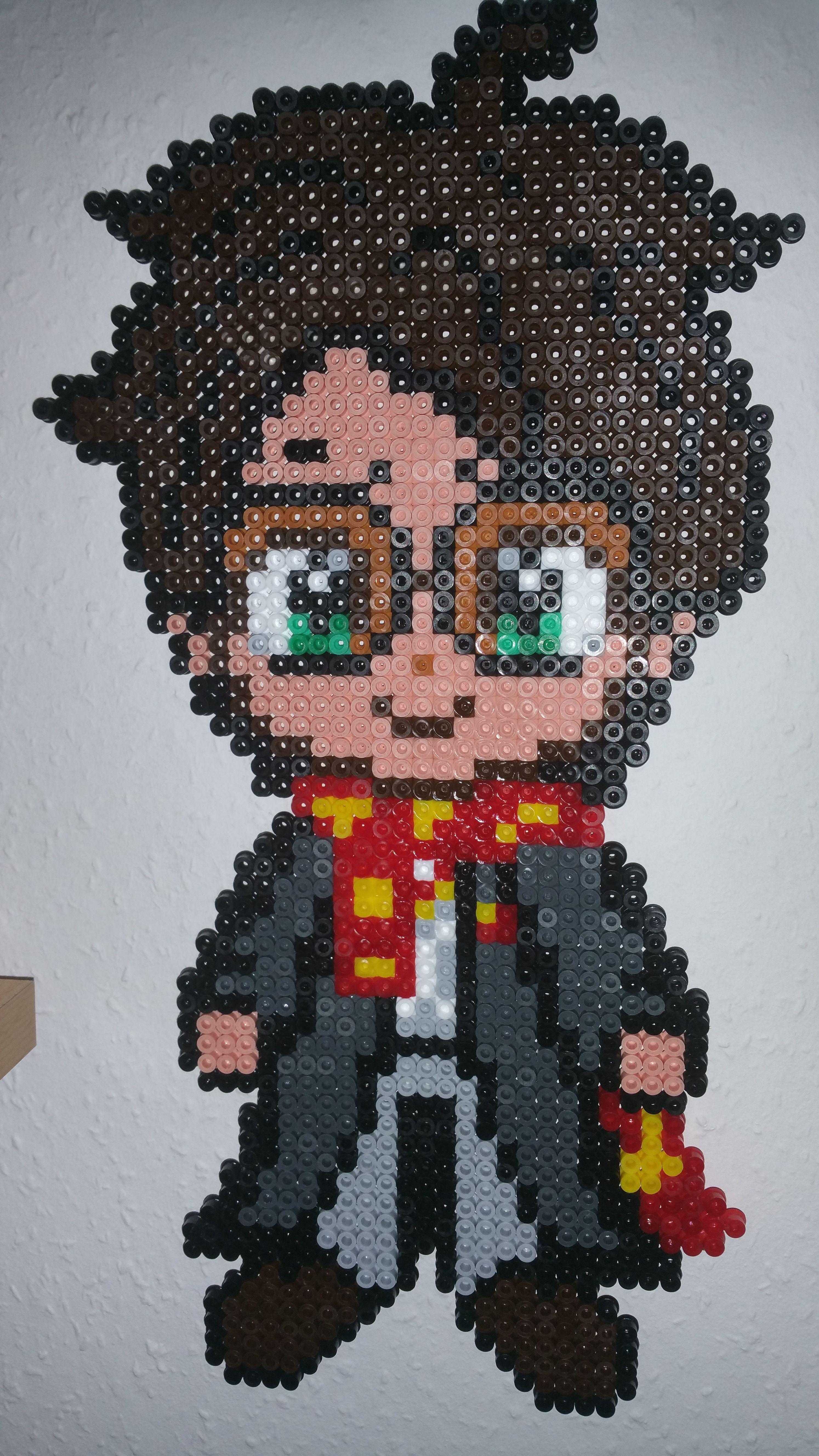 Harry Potter Bügelperlen | Bügelperlen-Vorlagen | Pinterest ...