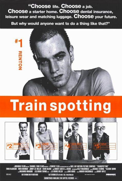 Trainspotting Poster The Portfolio Of Ross Hoddinott トレインスポッティング 映画 ポスター ポスター