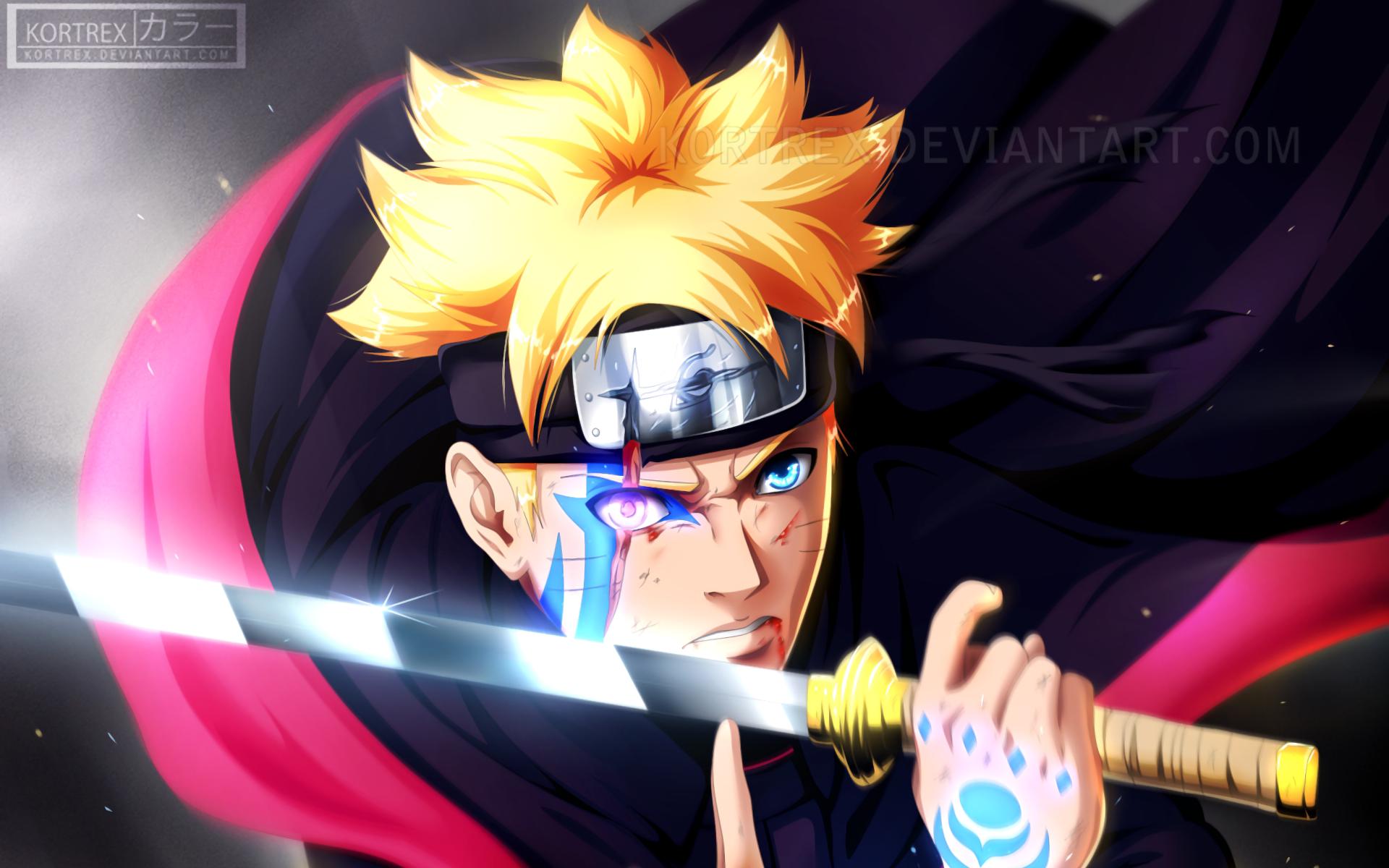 HD Wallpaper Boruto Blue Eyes Image in 2020 Anime