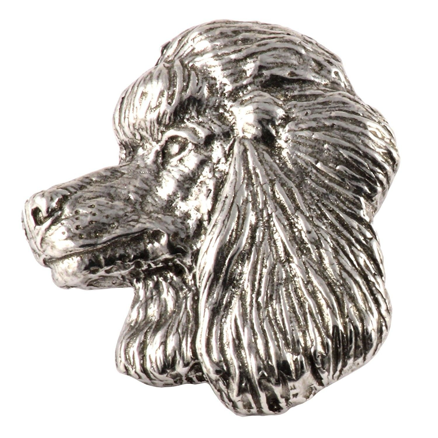 Creative Pewter Designs- Pewter Poodle Handcrafted Dog