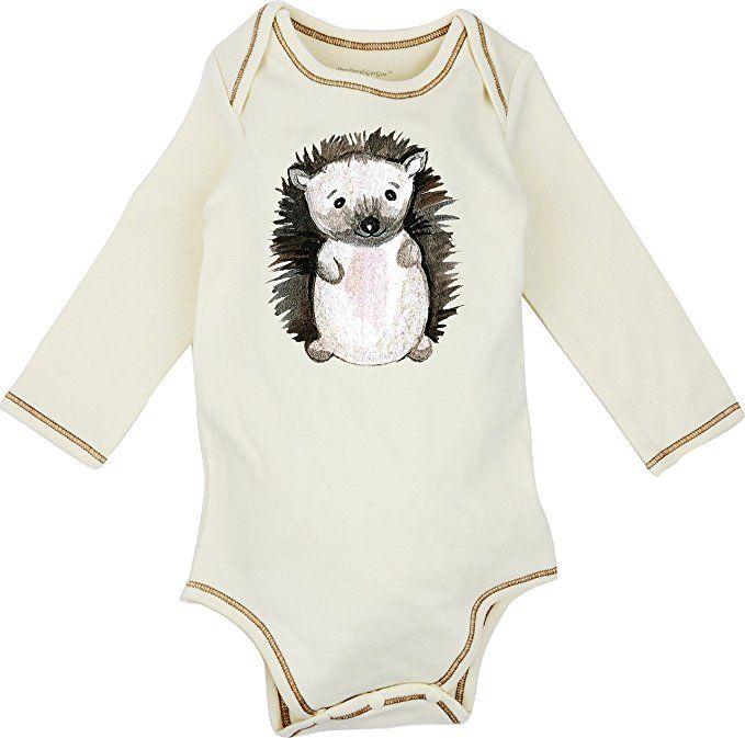 424bf7d063de Dordor   Gorgor 100% Organic Cotton Long Sleeve Unisex Baby Onesie w ...
