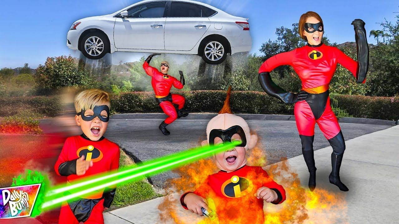 The Incredibles 2 Family In Real Life Amazing The