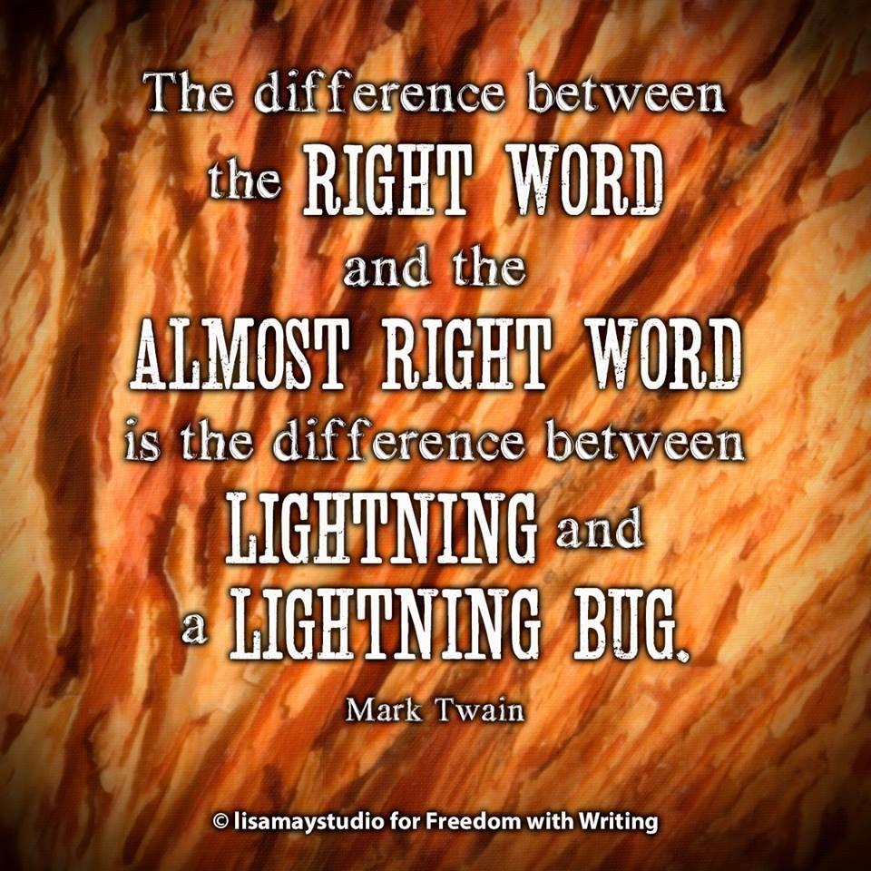 Almost right or right? #writer #author http://authorssuccessguild.com
