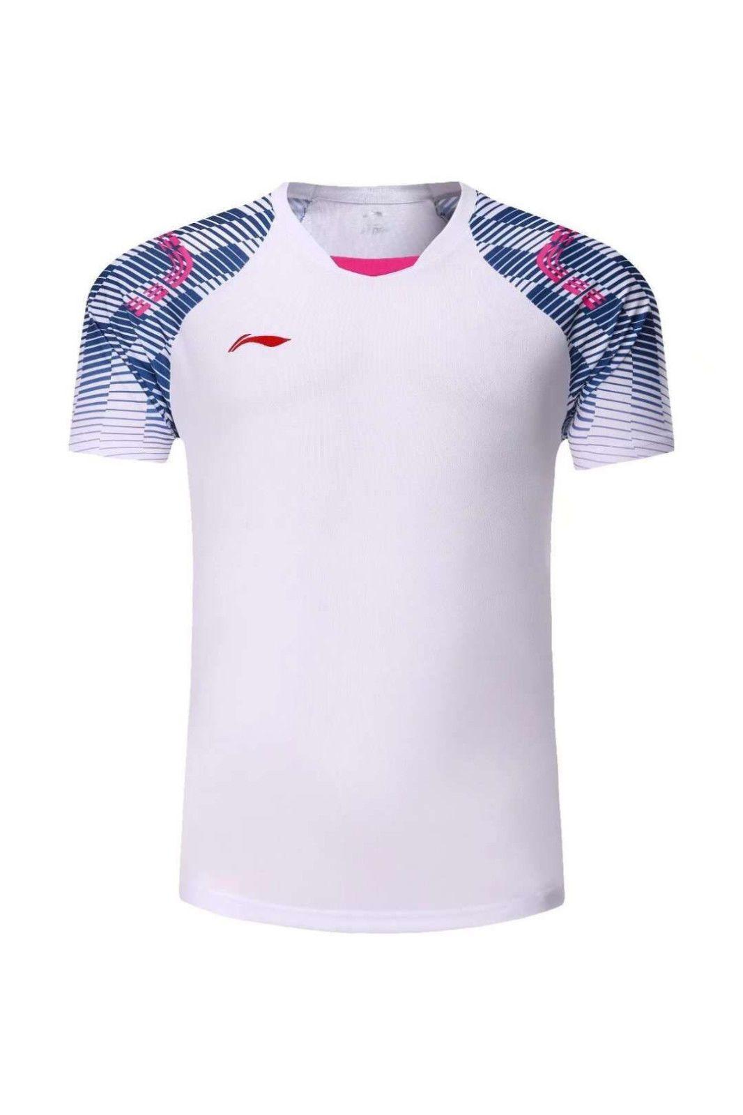 3c07150f7 2018 Li-Ning New mens sports Tops tennis/badminton Clothes T shirts ...
