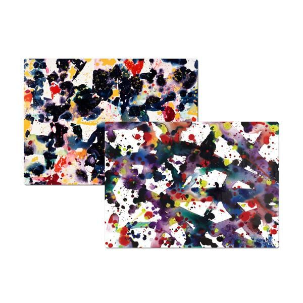 Sam Francis Set Of Two Placemats Sam Francis Artwork