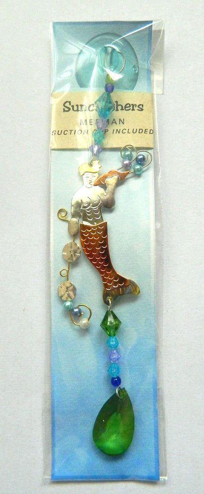 Pearl Mermaid Fantasy Ocean Ornament Metal Fair Trade Pilgrim Imports New