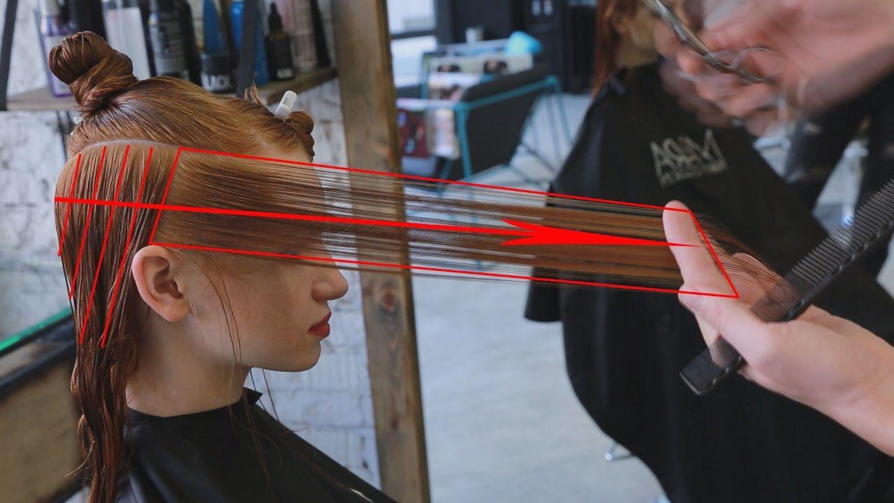Long Layered Haircut Tutorial Cortes Pinterest Long Layered