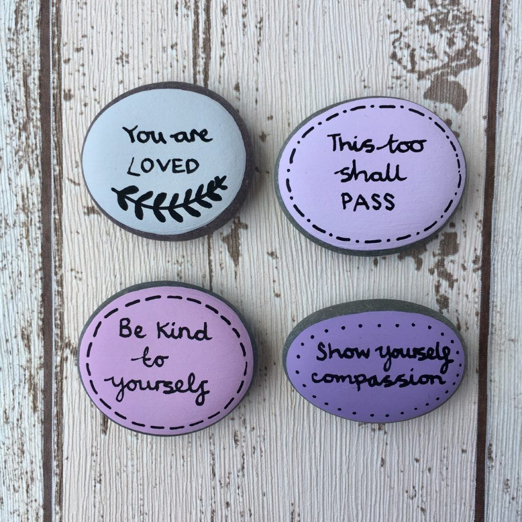 This Too Shall Pass Affirmation Pebbles