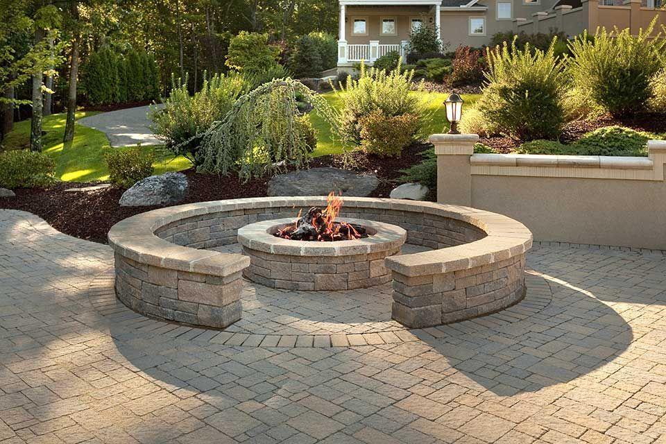 11 Capital Concrete Fire Pit Ideas Fire Pit Seating Fire Pit Backyard Gazebo With Fire Pit
