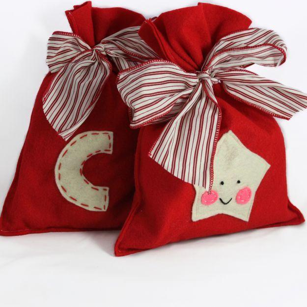 Realizza confezioni regalo fai da te per Natale [FOTO]   Feltro di