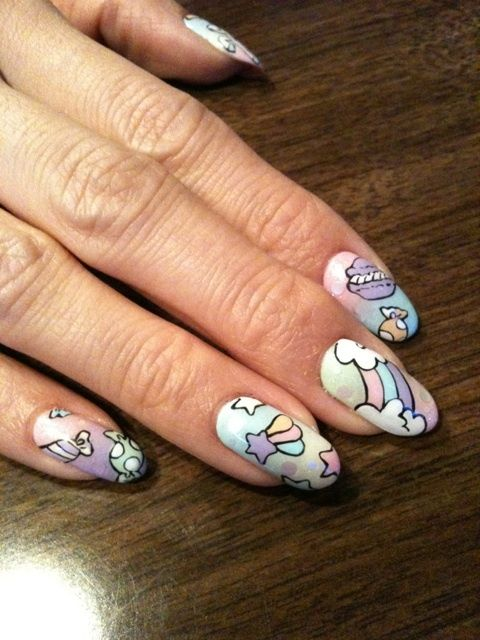 Cute nails Follow Me, get inspired and get more nail desings - nail ...