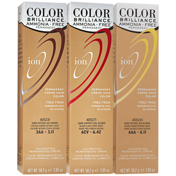 Ion Color Brilliance Ammonia Free Permanent Crème Hair Is A Gentle Non Damaging That Lifts And Deposits Without Aggressive