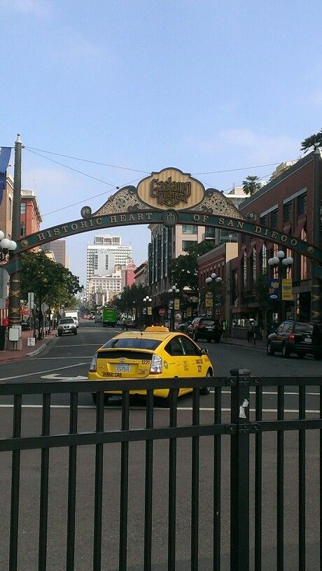 Gaslamp, downtown san diego