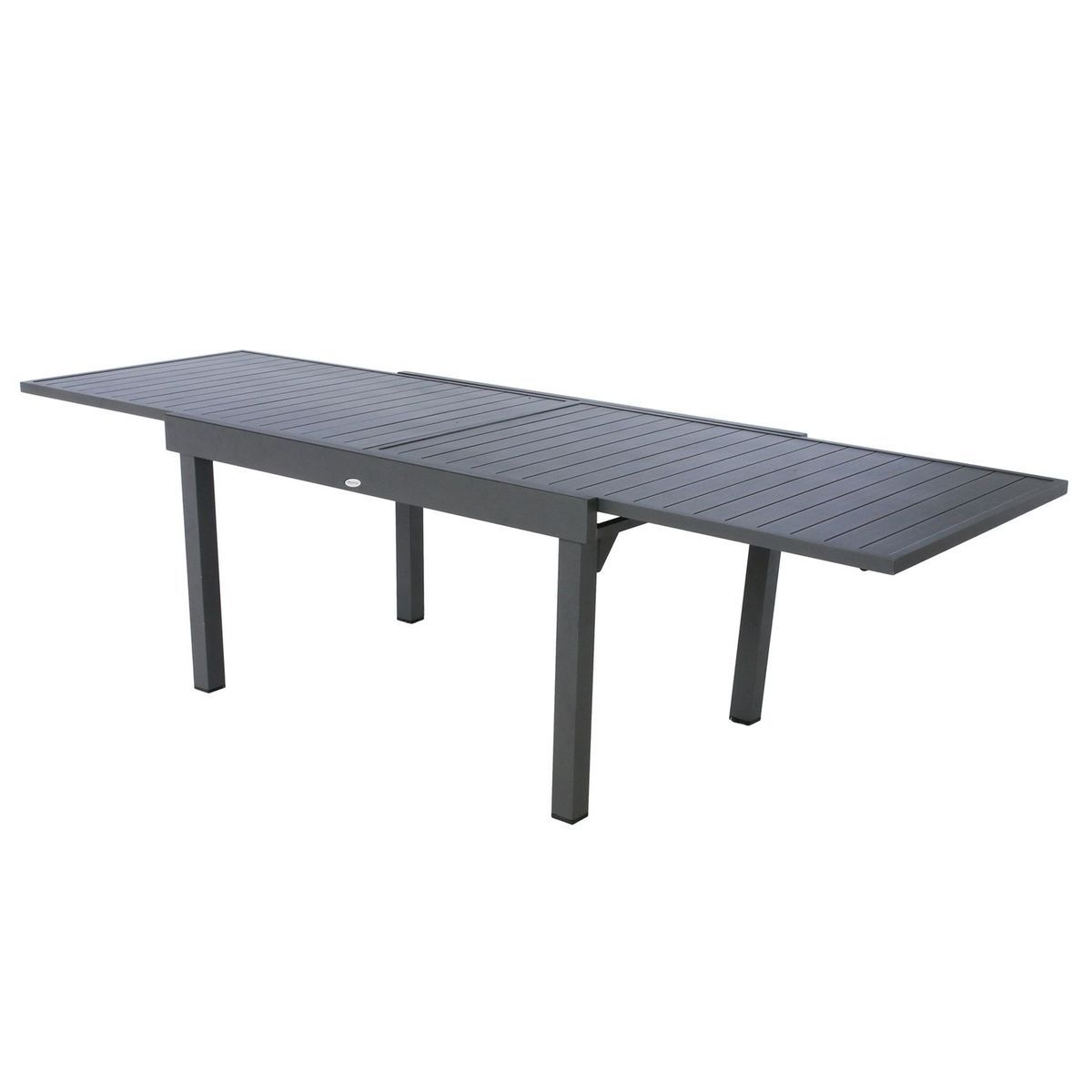 Table De Jardin Extensible 10 Personnes Piazza L 135 270 Cm Noir Graphite Taille Taille Unique Table De Jardin Table Extensible Table De Chevet Grise