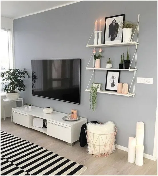 46 Amazing Living Room Wall Decor Ideas That Inspires Your Mind