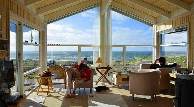 Beach House mit Meerblick in Dänemark Ferienhaus