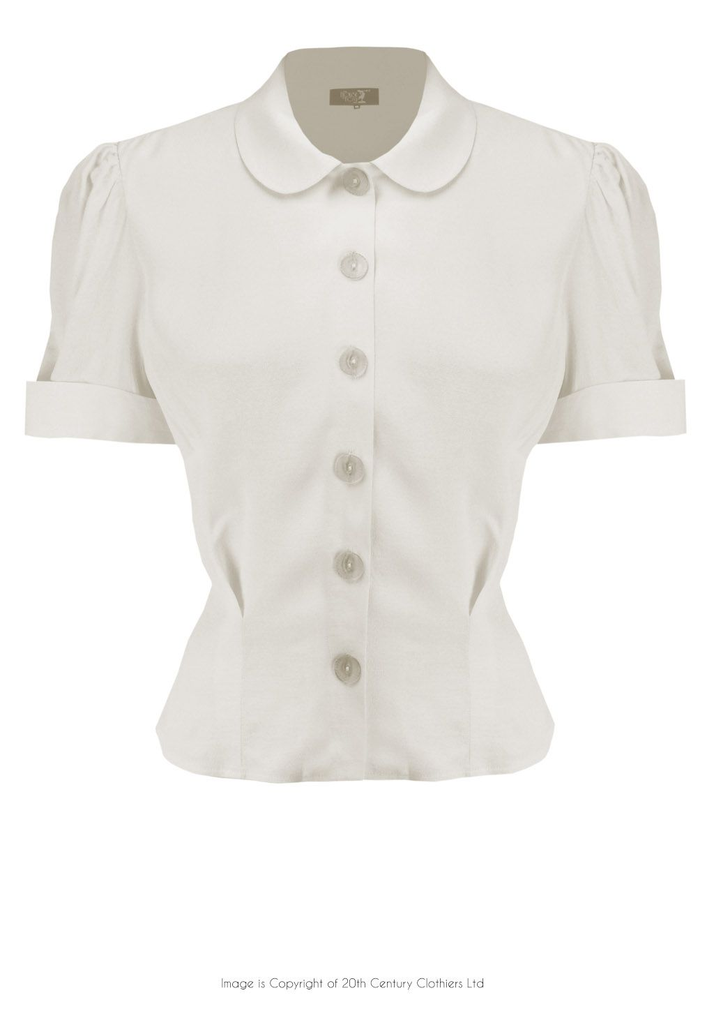8b2bc2085c875c 30s Prim Blouse - Ivory in 2019 | Things I Want | Blouse, 1930s ...