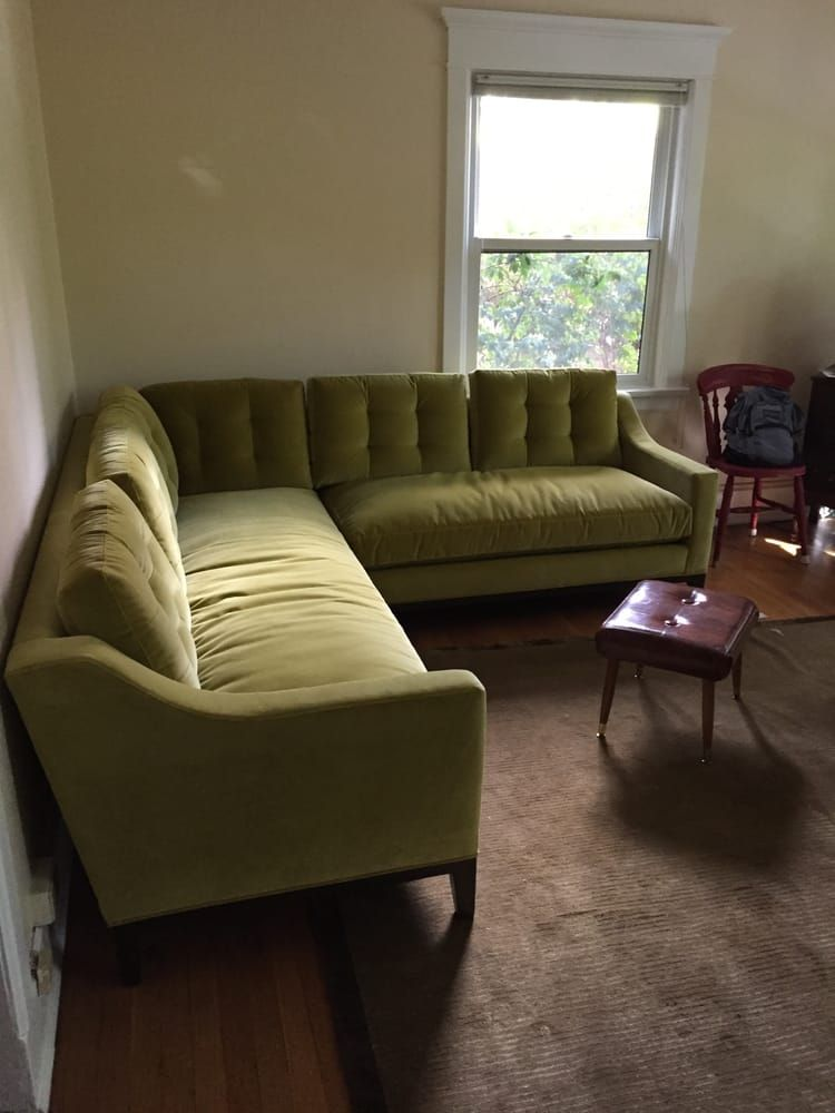 Photo Of Couch Seattle Wa United States Down Filled Velvet