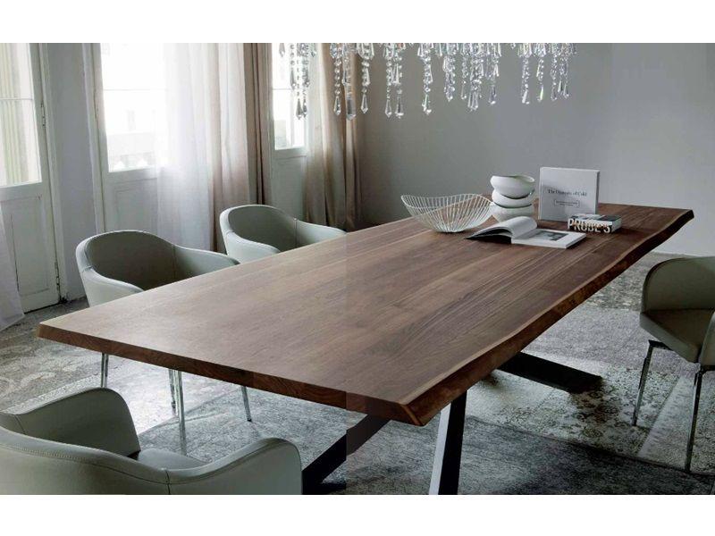 Spyder Tavolo ~ Tavolo spyder wood cattelan con basamento in acciaio verniciato