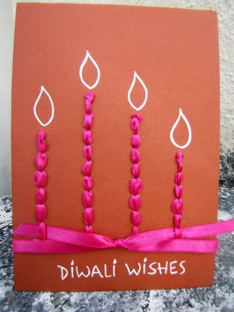 Delightful Some Ideas For Making Cards Part - 6: 100+ Diwali Ideas - Cards, Crafts, Decor, DIY And Party Food Ideas