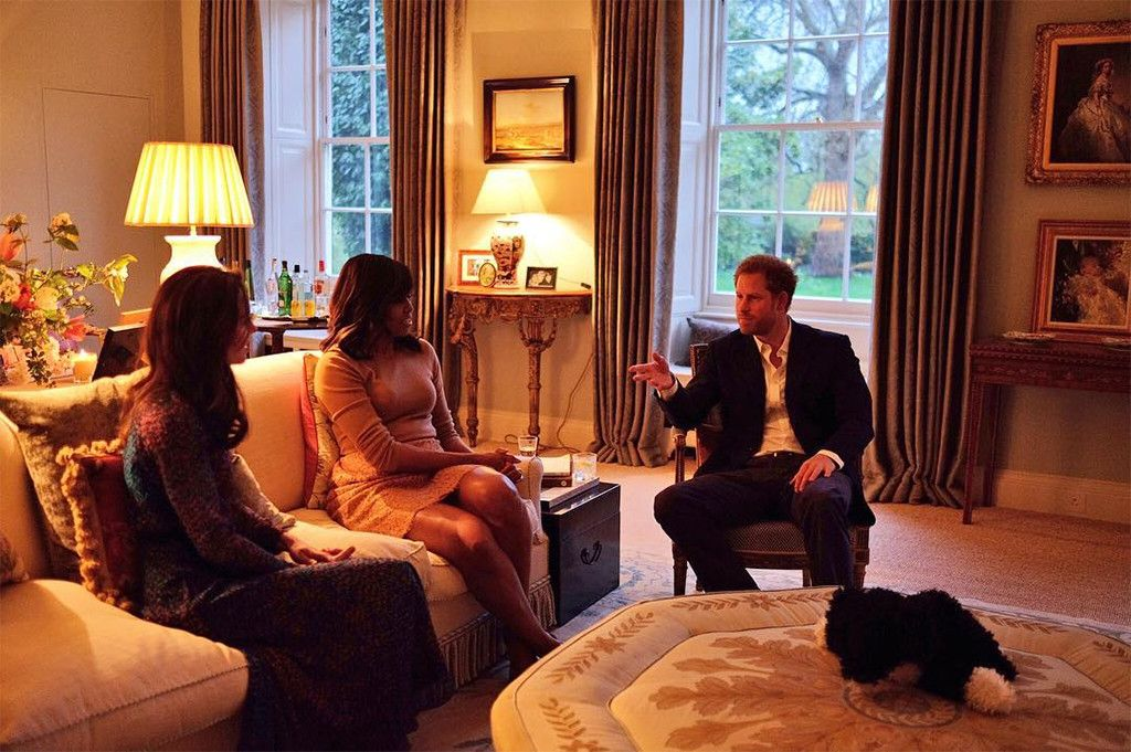 William Kate Host The Obamas At Their Home Take A Look