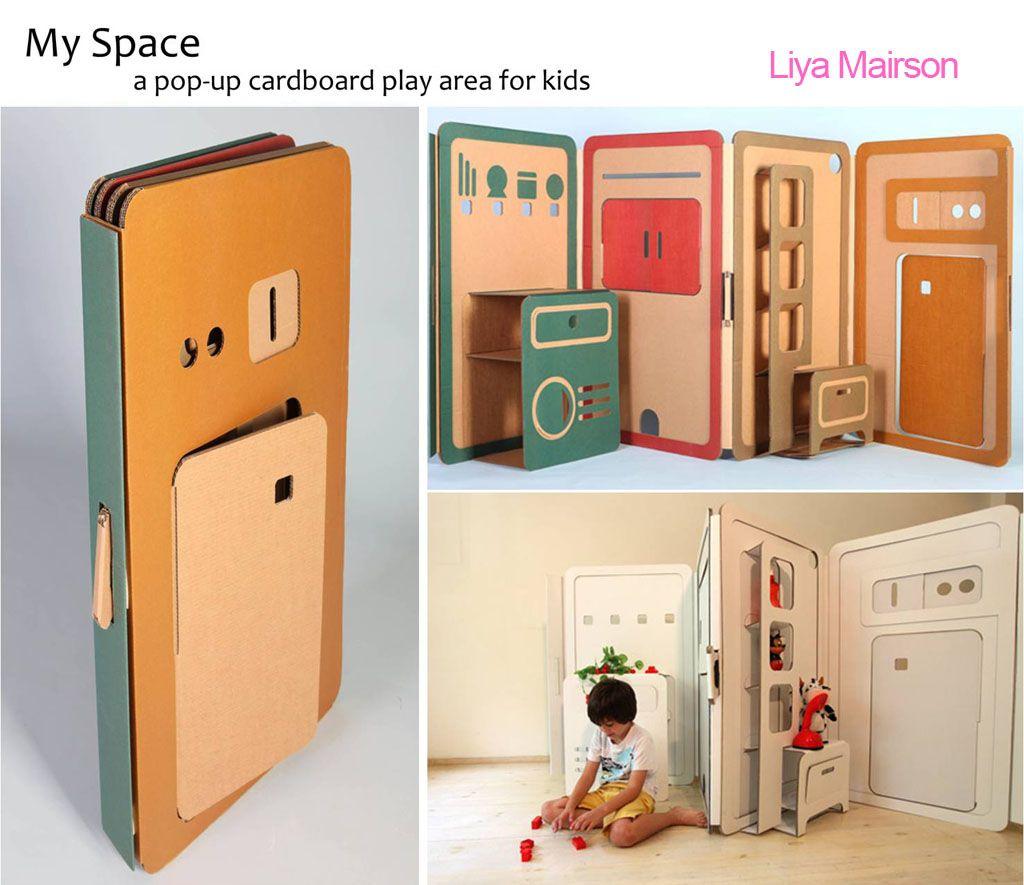Casas de cartón pegables, para niños | Design / Graphics ...