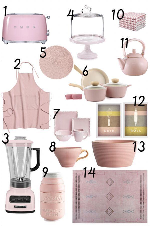 Albie Knows Blush Pink Kitchen Accessories Ping Guide Kitchenaccessories Blushpink