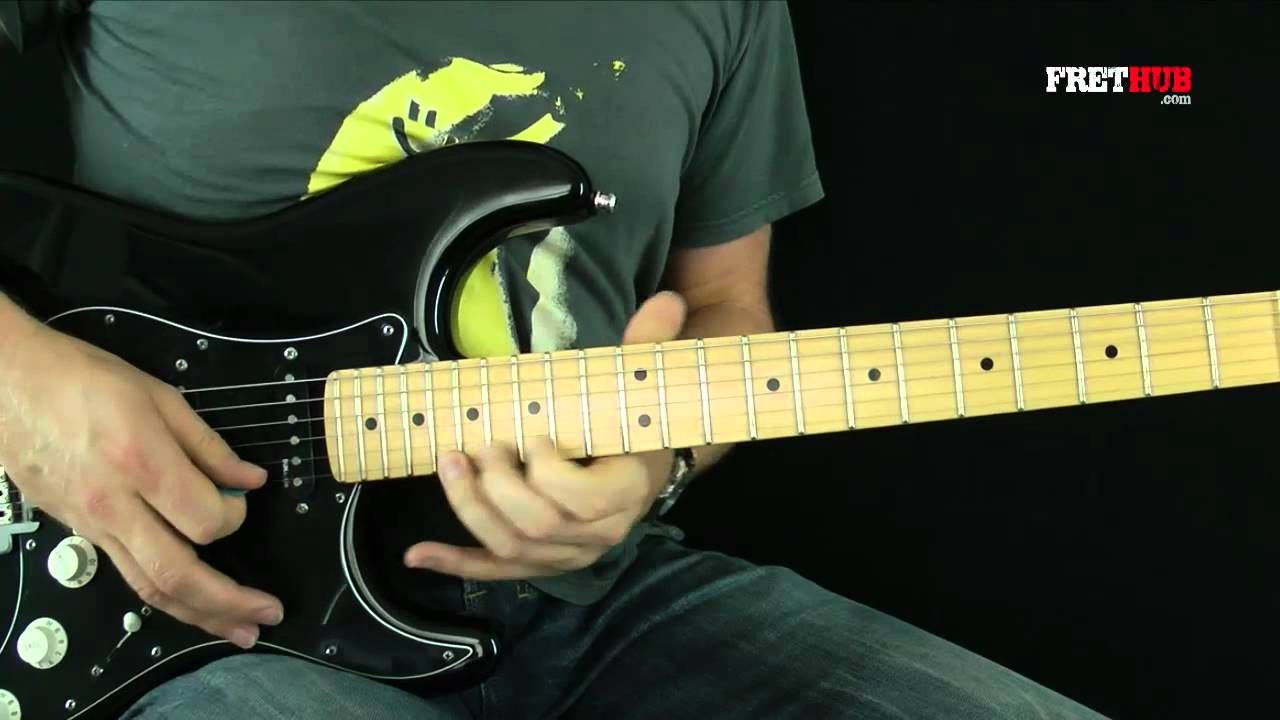 Guitar Lesson Pink Floyd Another Brick In The Wall Guitar