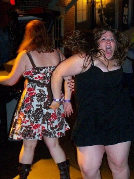 Chubby Girls Partying