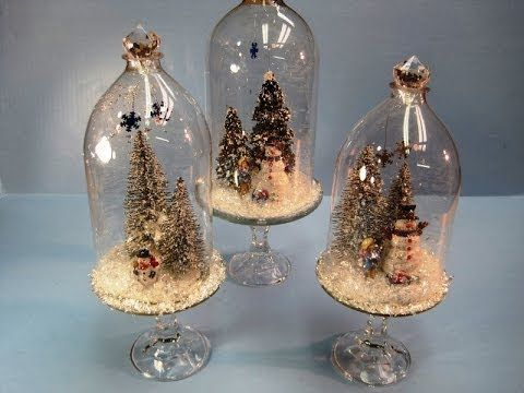 Recycled soda bottles christmas dome miriam joy soda for Christmas decor using plastic bottles