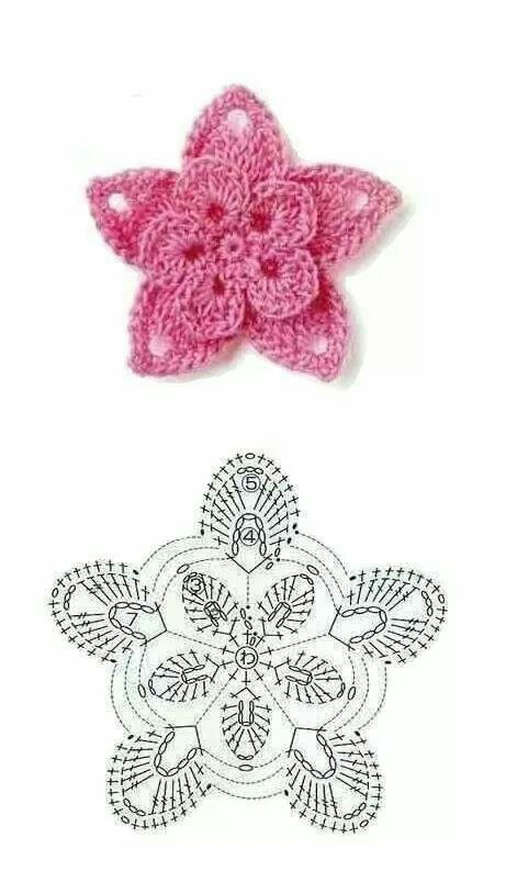 Pin de beti en flores ganchillo | Pinterest | Flores ganchillo ...