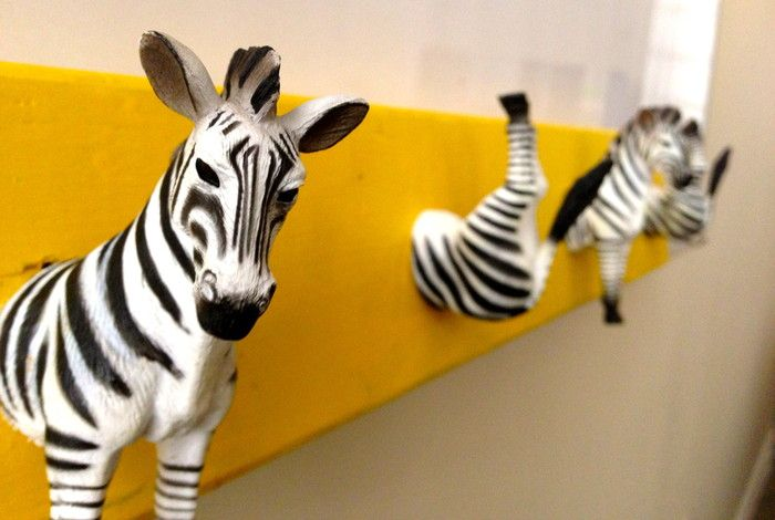 Make a DIY Animal Coat Rack! | Diy coat rack, Glue painting and Coat ...