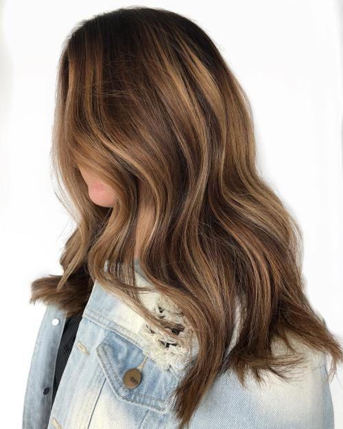 20 Hellbraune Haare, Looks und Ideen #brownhaircolors