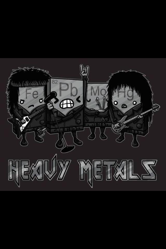 Heavy Metals T-Shirt Química, Biología y Ciencia - new tabla periodica de los elementos quimicos vanadio