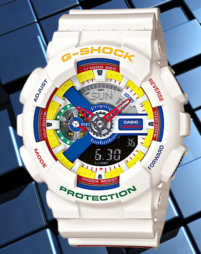 0973dad307d7 ... watches but this CASIO G-Shock : (Limited Edition) I would rock!  _GA-111DR-7AJR_ Dee & Ricky GA-111DR-7AJR